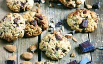 Cookies à la purée d'amande et au chocolat
