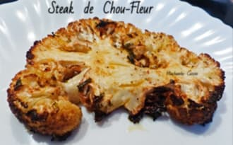 Steak de chou-fleur