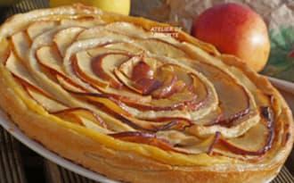 Petite tarte aux Pommes Rouge