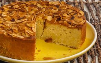 Gâteau fondant aux amandes