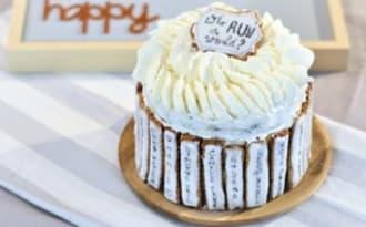 Layer Cake chocolat - noix de coco