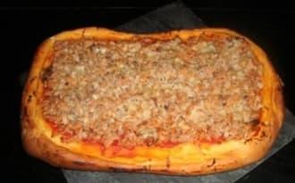 Pizza au thon et aux épices cajun