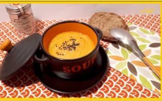 Crème de carottes au quinoa