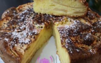 Gâteau pommes Mascarpone