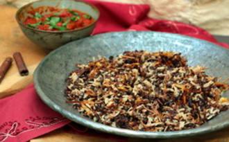 Kosheri de Yotam Ottolenghi - riz aux lentilles égyptien