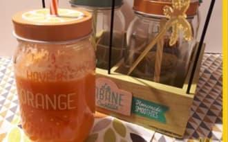 Jus d'oranges pommes carottes et gingembre