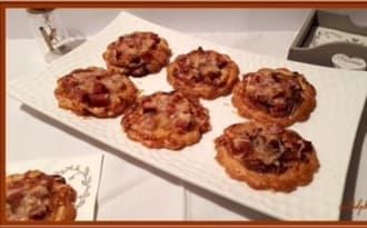 Tartelettes au Comté et saucisse de Morteau