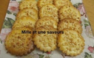 Biscuits aux éclats d'amandes - mille et une saveurs dans ma cuisine