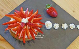 Tartelettes fraises et citron