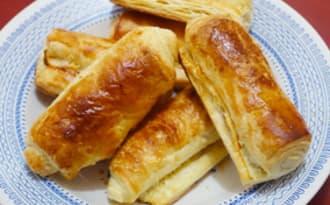 Rouleaux feuilletés au fromageOULEAUX FEUILLETÉS AU FROMAGE