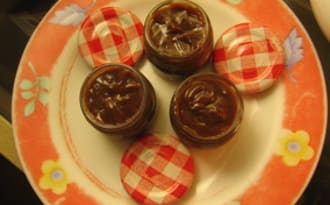 Pâte à tartiner au chocolat et à la confiture de lait