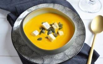 Soupe potimarron au morbier