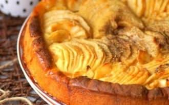 Tarte briochée aux pommes