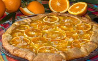Tarte rustique aux oranges d'Altéa