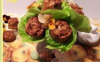 Minis cakes à la pistache