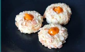 Thumbprint cookies à la crème d'abricot