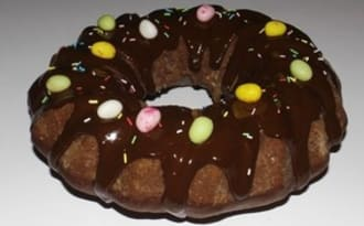 Chiffon cake au chocolat