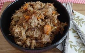 Daube de veau aux carottes et vin rouge