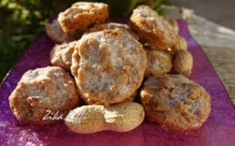 Biscuits aux cacahuètes
