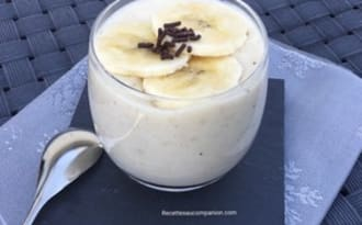 Crème dessert à la banane