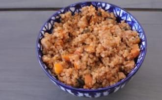 Quinoa bowl à la provençale