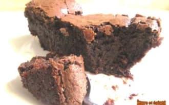 Gâteau au chocolat sans beurre ni farine