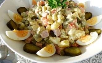 Salade russe ou Salade Olivier
