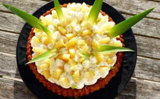 Tarte renversée à l'ananas