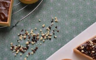 Tartelettes chocolat et beurre de cacahuètes