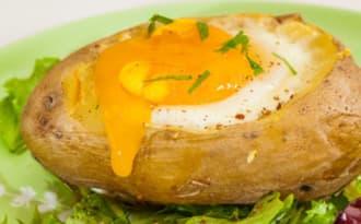 Pommes de terre aux œufs