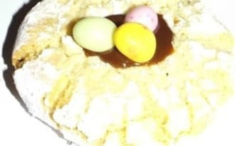 Macaron italien et pâte à tartiner