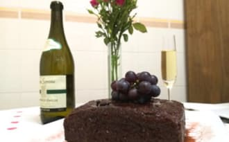 Gâteau au vin rouge