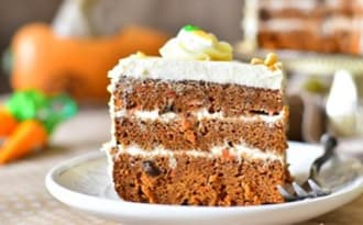 gâteau aux carottes recette facile au cream cheese