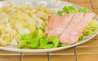 Chou pointu au saumon