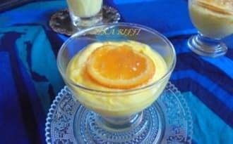 Crème aux amandes et à l'orange façon mistralette