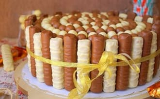 Gâteau de Pâques tout chocolat
