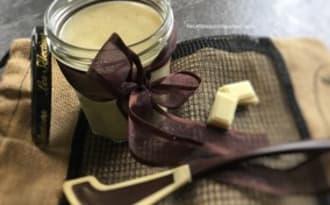 Pâte à tartiner maison au chocolat blanc