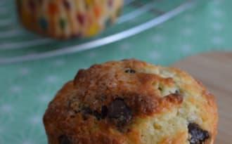 Muffins au yaourt et aux pépites de chocolat