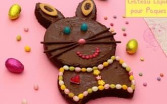 Gâteau lapin pour Pâques
