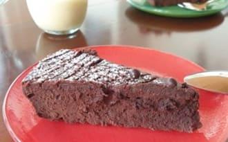 Fondant chocolat au mascarpone