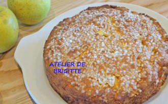 Gâteau Madeleines aux pommes