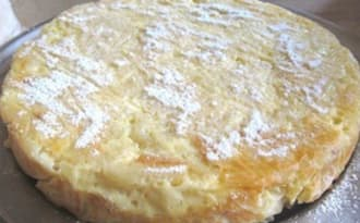 Gâteau sucré de pâtes moldave
