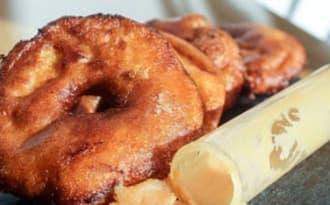 Des beignets aux pommes