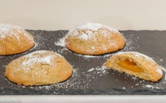 Biscuits à la crème d'abricot