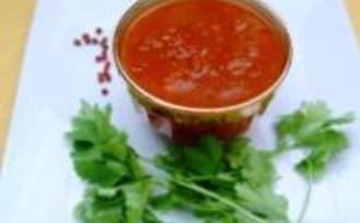 Chutney de Tomates, Sauce Indienne