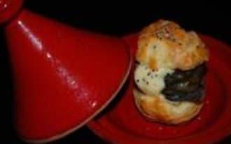Escargot en Profiterole et Crème d'Ail