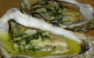 Huîtres Chaudes au Beurre d'Escargots