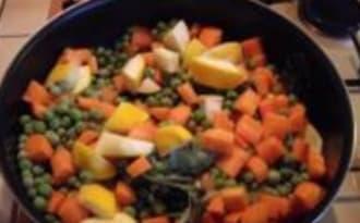 Jardinière de Légumes aux Pâtissons et Fenouil Braisé