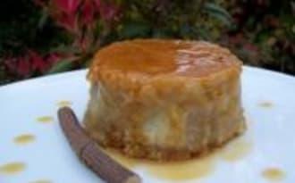 Le Flan Biscuité Poires et Réglisses