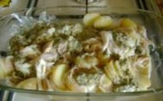 Raies, Sauce Oseille et Pommes de Terre